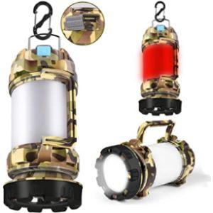 Yousmart Camping Torch Lantern