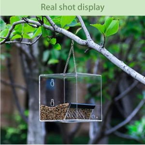 Wbty Hanger Window Bird Feeder