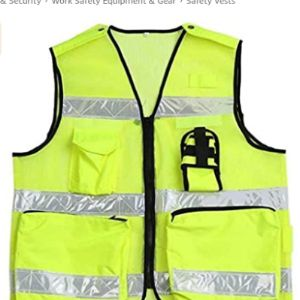 Kaige Reflective Safety Vest With Company Logo