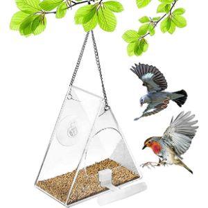 Skystuff Acrylic Window Bird Feeder