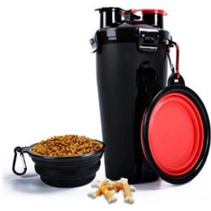 Kateluo Pet Travel Water Bottle Bowl
