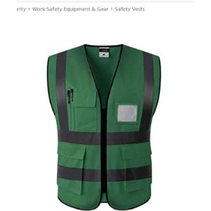 Keephen Tape Safety Vest With Reflective