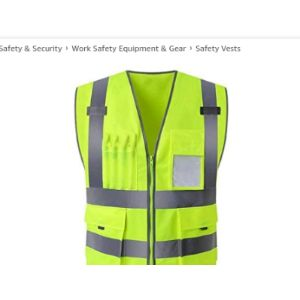 Wuyou Printing High Visibility Vest
