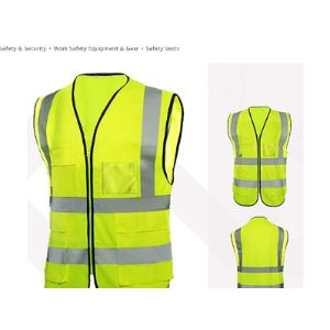 Bedler Neon Yellow Safety Vest