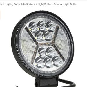 Kkmoon Led Work Light Round