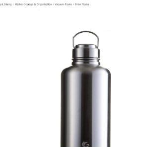 One Green Bottle Health Stainless Steel Water Bottle