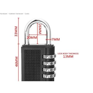 Direction Combination Lock