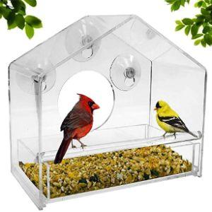 Wpaacb Window Hanging Bird Feeder