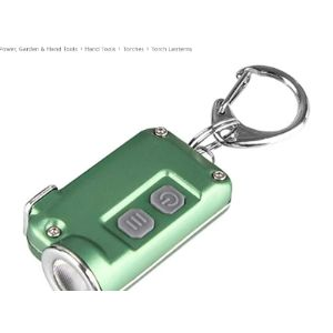 Jilijia Mini Led Flashlight Torch Light Lamp Keychains