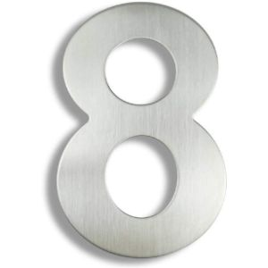 Stainless Steel House Number Plaque