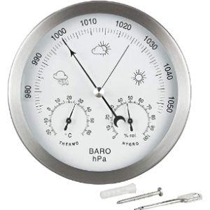 Lanilianhuqa Outdoor Thermometer Hygrometer Barometer