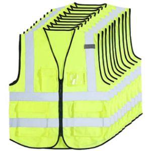 Jpgdn Zipper Front Safety Vest