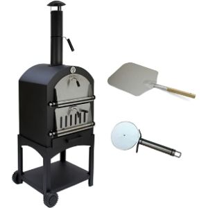 Monster Shop Stainless Steel Outdoor Pizza Oven