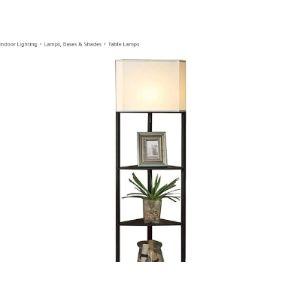 Lqbdjpys Corner Shelf Light