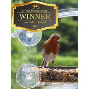 Homebird Suction Cup Window Bird Feeder