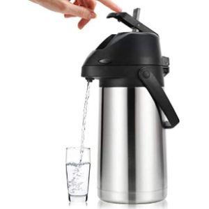 Lunch Box Pump Vacuum Flask