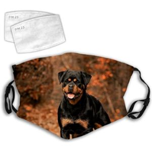 Udfk Rottweiler Mouth Mask