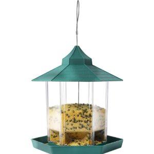 N / A Gazebo Style Bird Feeder