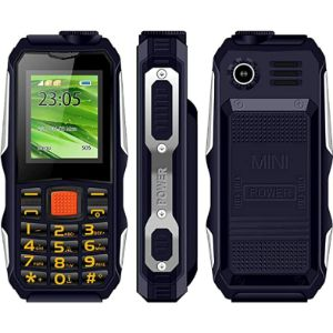 Mlywd Blue Chip Big Button Mobile Phone