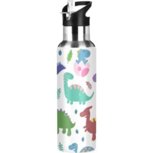 Mnsruu Insulated Stainless Steel Water Bottle