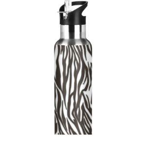 Jumbear Zebra Stainless Steel Water Bottle