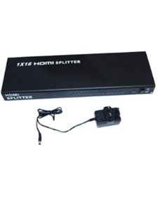 SuperWhole black rs232  box splitters