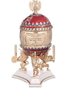 danila-souvenirs faberge egg  trans siberian railways