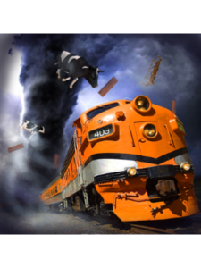 Train Depo game  hurricane trackers