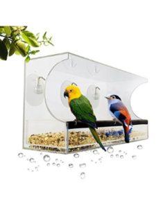 GPF Bowls natures hangout  window bird feeders