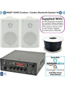 Loops weatherproof enclosure  stereo receivers