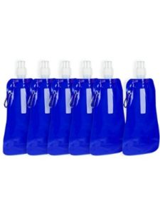 Juvale    2 liter collapsible water bottles