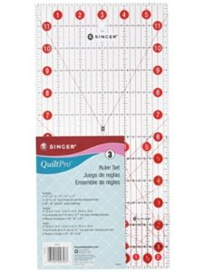 Singer 45 degree  angle quilting rulers