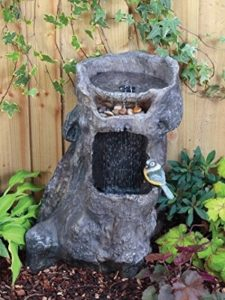 Interpet Ltd bird bath  tree stumps