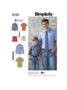Simplicity    boxer short sewing patterns