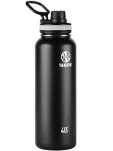 Takeya travel water bottle