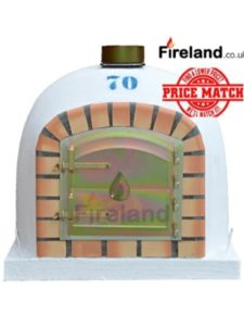 UK Retailers clay brick  pizza ovens