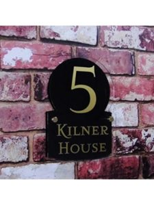 House Sign Solutions craftsman  house number plaques