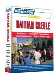 Pimsleur creole  speak frenches