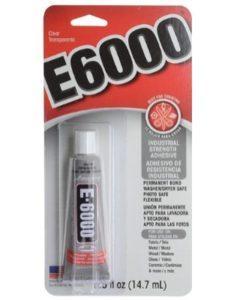 E-6000 craft glue