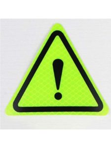 NYAOLE exclamation mark  warning light triangles