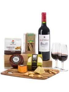 Hay Hampers gift set  bordeaux wines