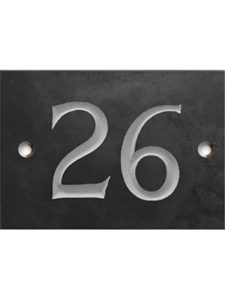 Numbers & Names    house number ones