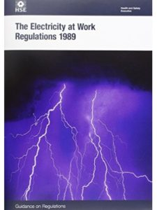 The Health and Safety Executive (HSE) industrial  electricity books
