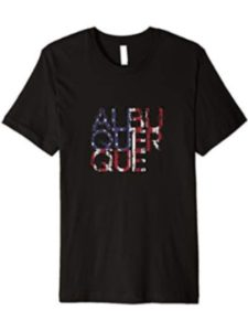 USA American City & Flag T Shirts located  mexico cities