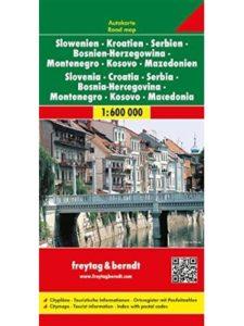 Freytag & Berndt    macedonia road maps