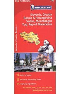 Michelin    macedonia road maps