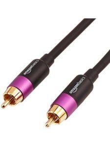 AmazonBasics subwoofer cable