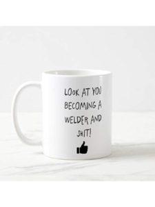 Funny Mug microwave  arc welders