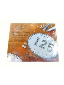 House Of Crafts Limited mosaic kit  house numbers