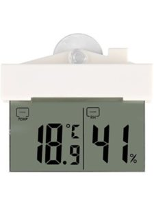 Fdit mounted digital thermometer  walls